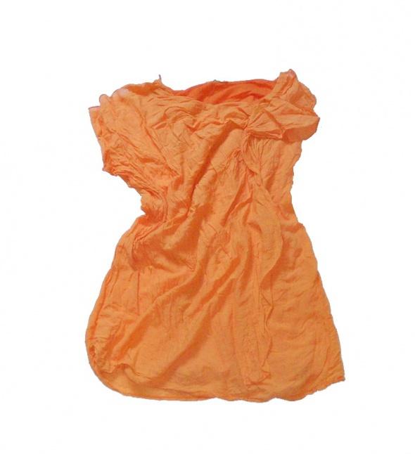 Lekka bluzka pomarańcz 38