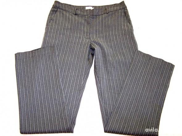 Spodnie Szare Proste Nogawki S 36...