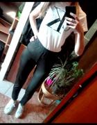 Czarne legginsy Lindex M...