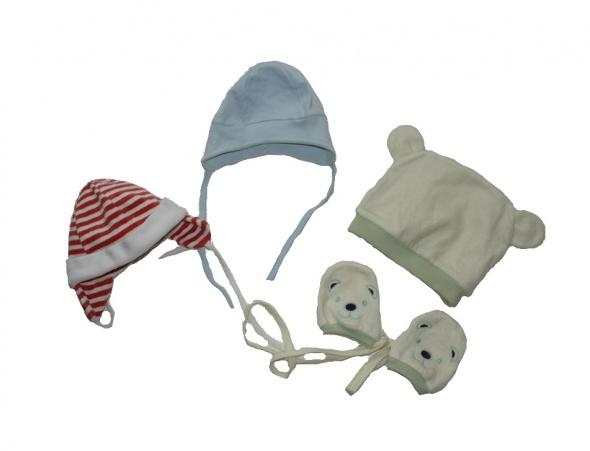 Pierwsze czapeczki dla noworodka 50 56...