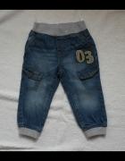 Spodnie dzinsowe Baby Club 86...