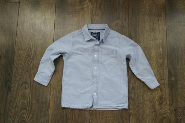 Cool Club koszula niebieska 98