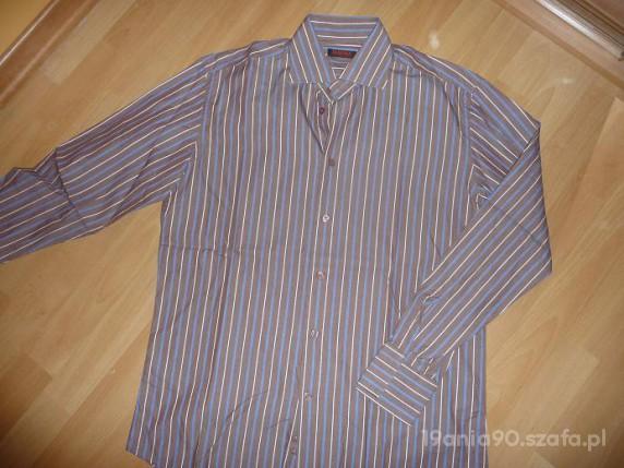 Koszula męska w paseczki