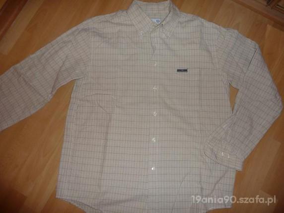 Męska koszula w krateczkę