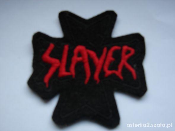 Naszywki zespołów Slayer Samael