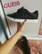 Nowe oryginalne sneakersy Guess hit skóra Calvin Klein Nike Tom...