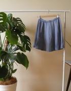 Spódnica w kolorze jeansu New Look materiałowa...