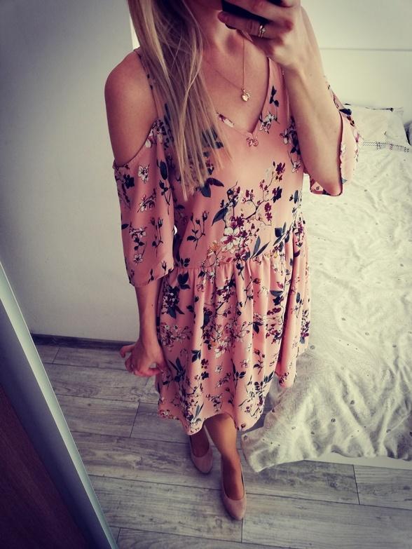 Sukienka hiszpanka w kwiaty House S