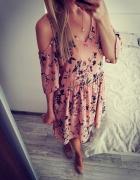 Sukienka hiszpanka w kwiaty House S...