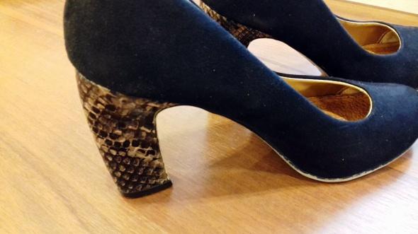 czarne zamszowe buty 38 Graceland...