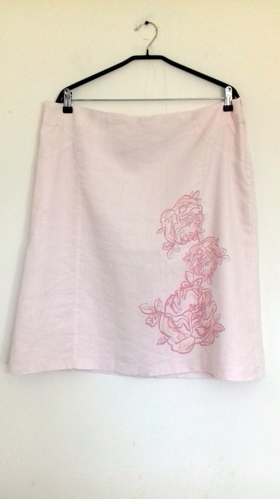 spódnica różowa H&M 48...