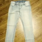 Jasne jeansy l xl w pasie guma