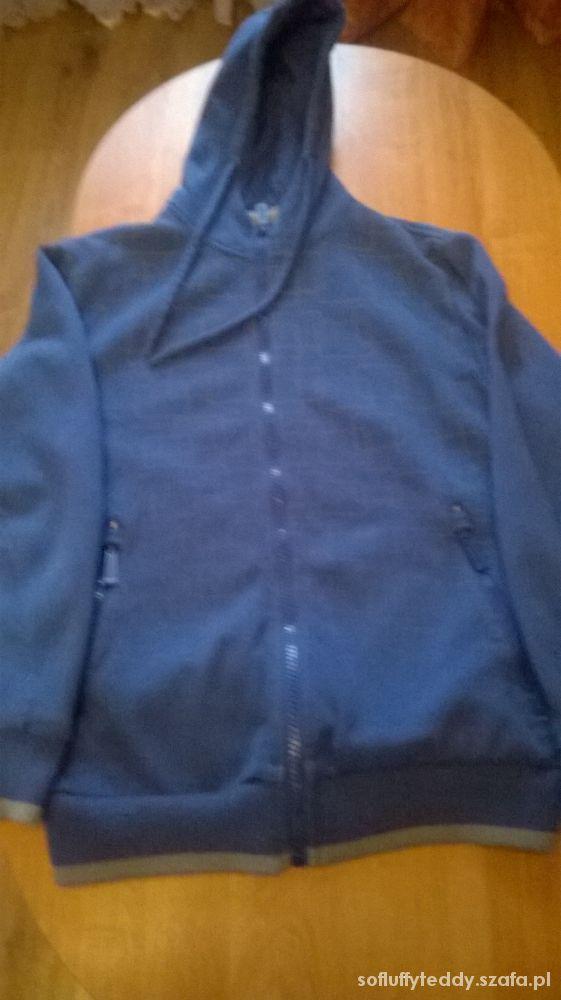 Granatowa bluza...