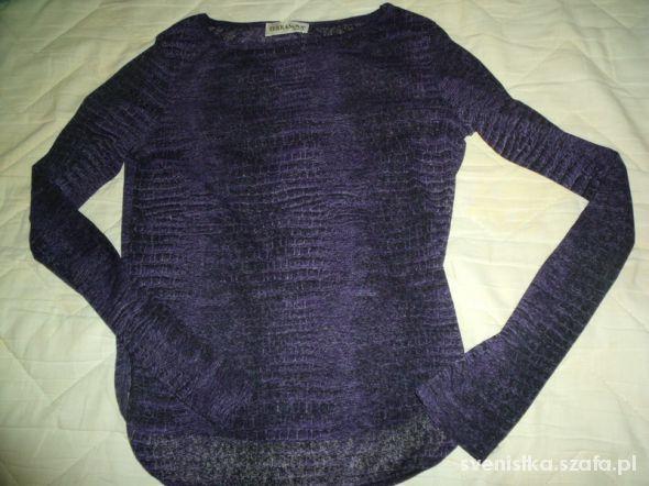 Fioletowa bluzka Terranova...