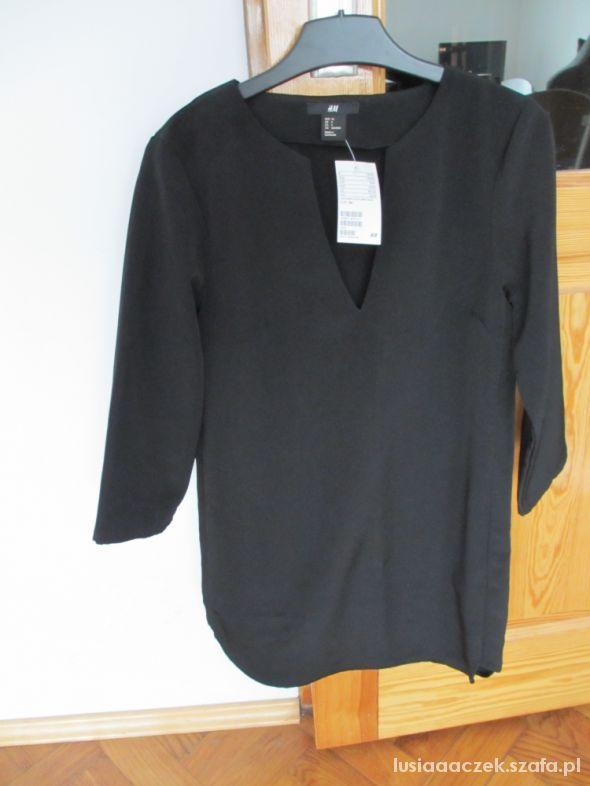 Czarna tunika H&M