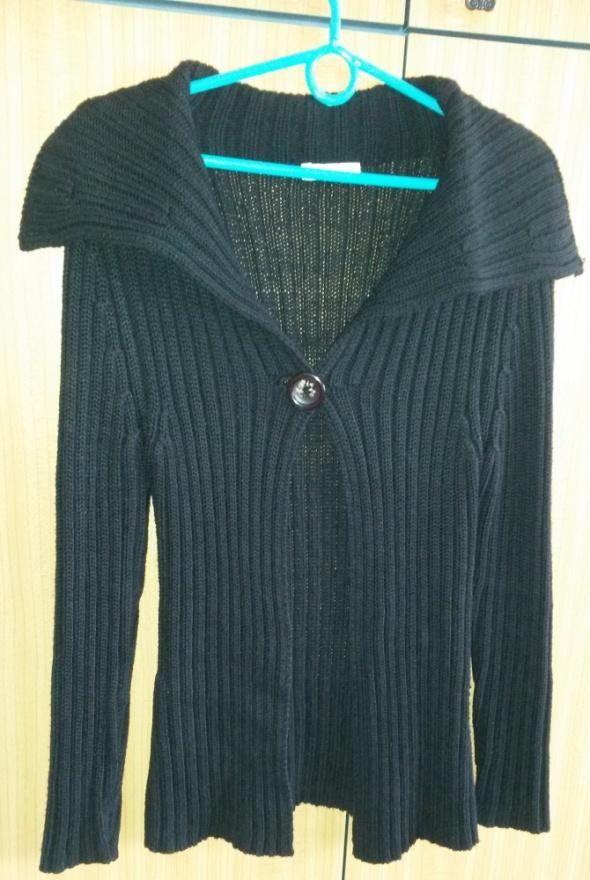 Swetry Czarny długi sweter Promod M
