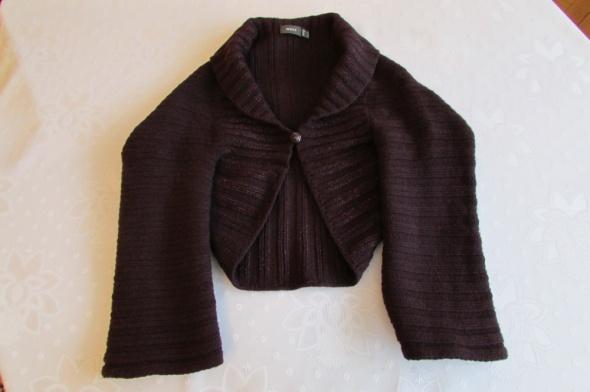 Fioletowy sweter bolerko Mexx XS