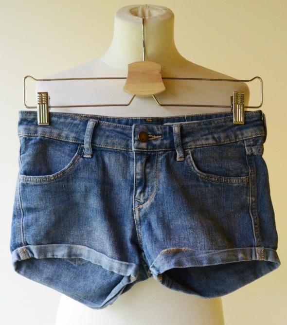 Spodenki Jeansowe Dzins H&M XS 34 Shorts Jeans...
