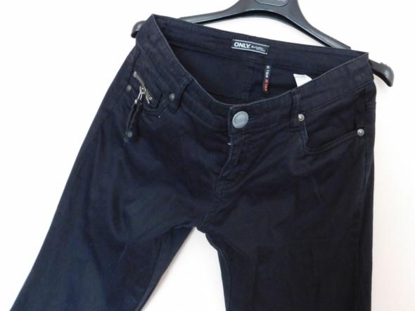 Only spodnie czarne proste 38 40 36 na 32