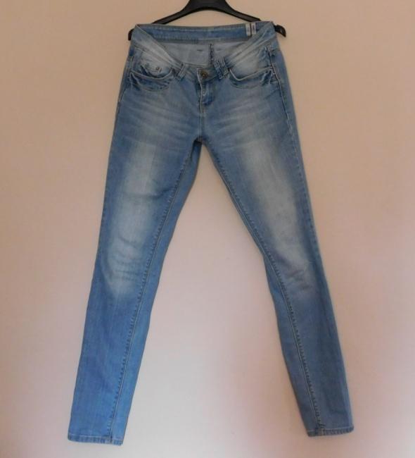 Yes Yes spodnie jeans niebieskie skinny 36