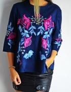 Haftowana bluzka Zara...