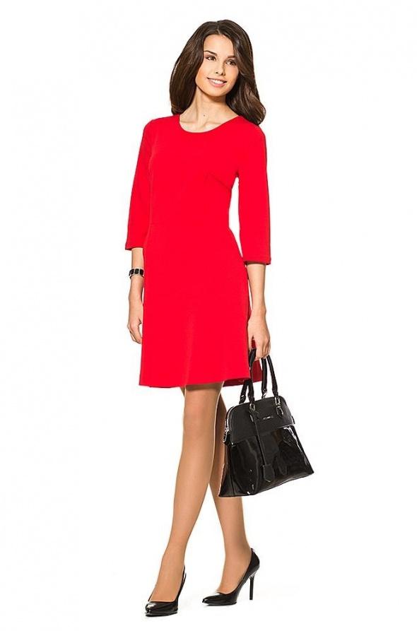 nowa sukienka Orsay XS w kolorze czerwieni...
