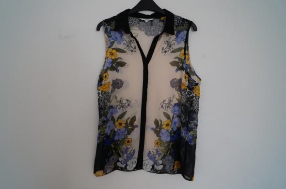Koszula mgiełka w kwiaty New Look rozmiar L...