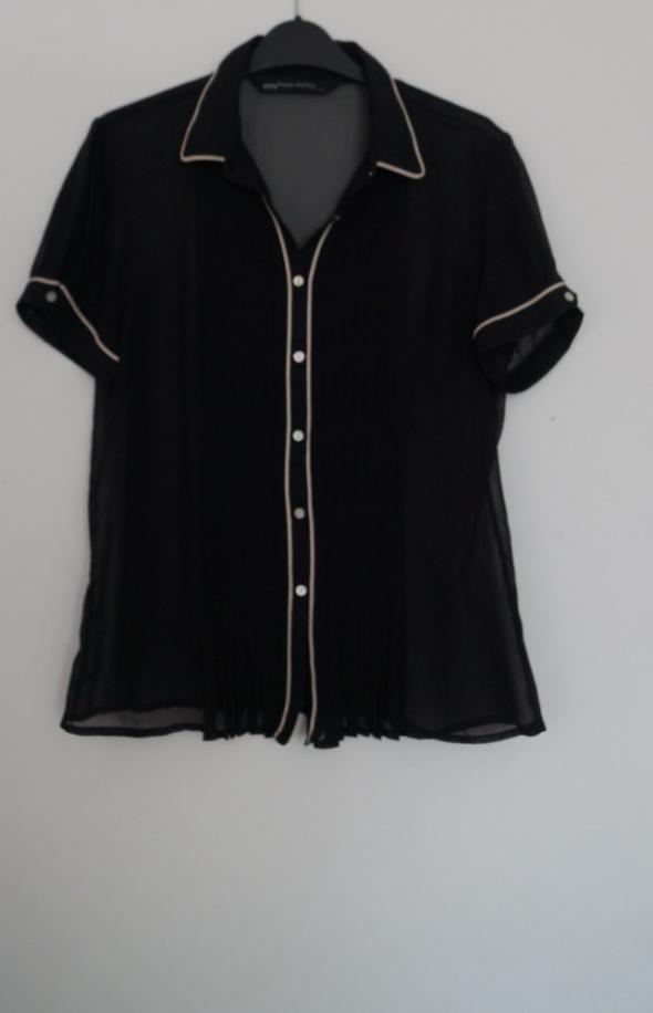 Czarna koszula mgiełka Zara rozmiar M...