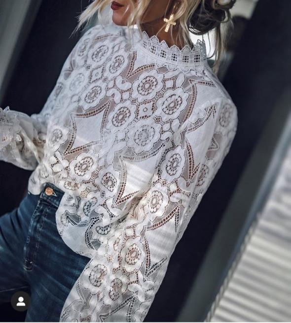 Koronkowa bluzka Zara HIT...