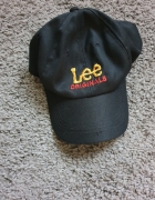 Czarna czapka z daszkiem Lee Originals...