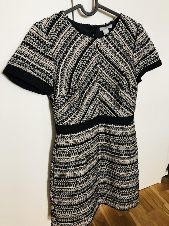 H&M śliczna sukienka 36 S zip