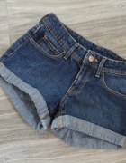 Szorty jeansy h&m XS...