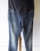 Spodnie H&M Mama Super Skinny XXL 44 Jeansy Dzinsy Tregginsy...