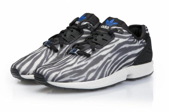 Oryginalne Adidas ZX FLUX zebra damskie 375