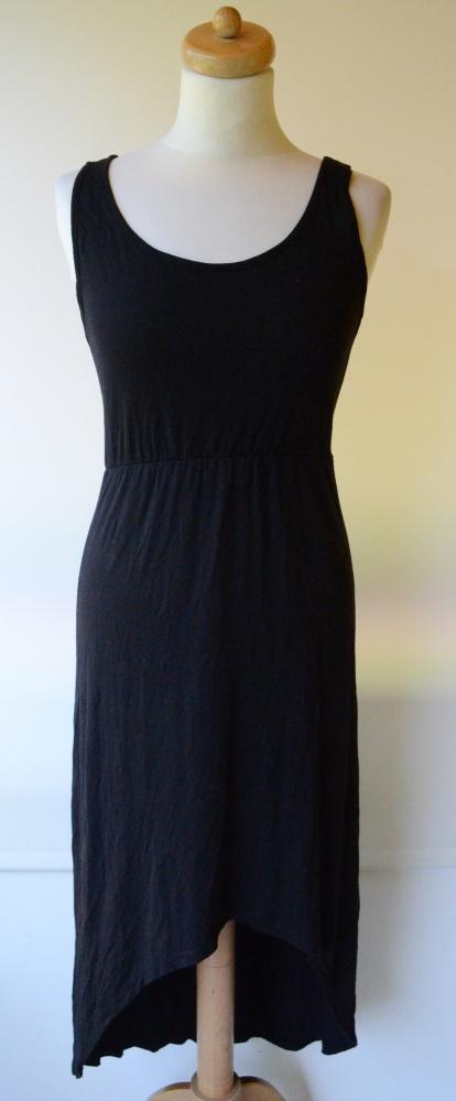 Sukienka Czarna Gina Tricot Dłuższy Tył S 36...
