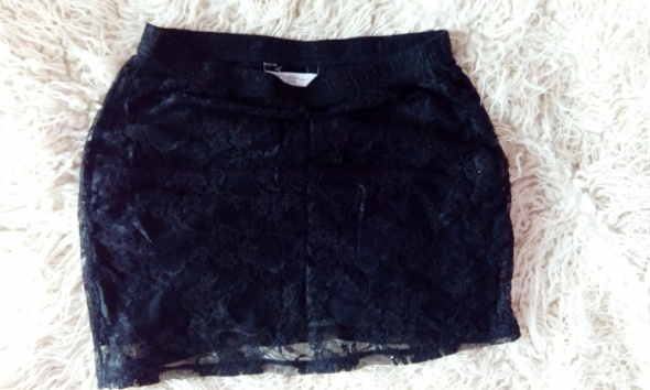Spódnice Czarna koronkowa New Look