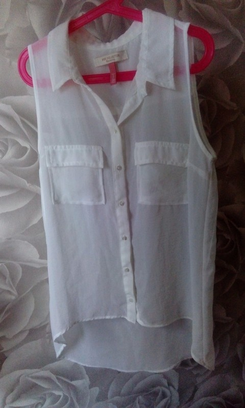 Biała mgiełka koszula bershka xs...