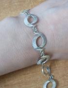 stara srebrna bransoleta...