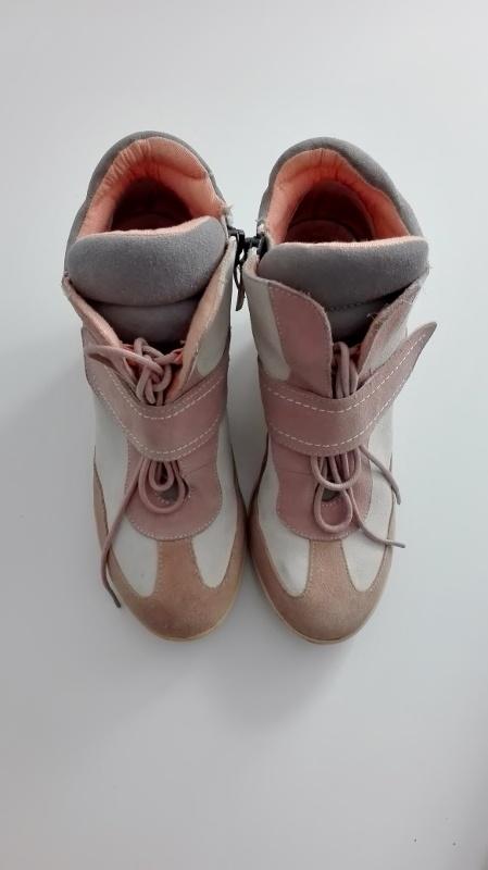 Pozostałe Sneakersy pódrowy róż Buty na konturnie różowo szare wiązane pastelowe River Island r 37