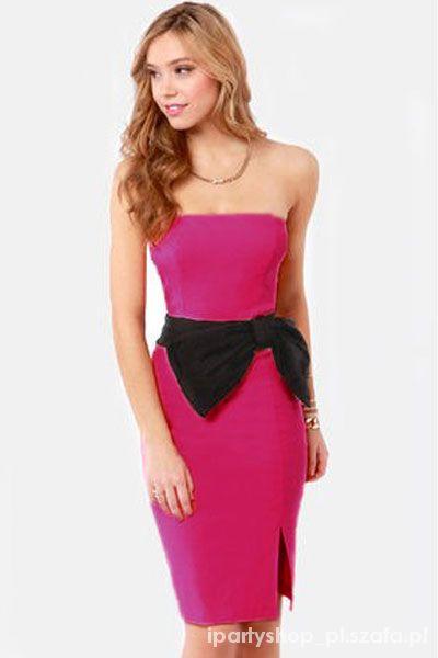 Glamour Sukienka na studniówkę wesele sylwestra