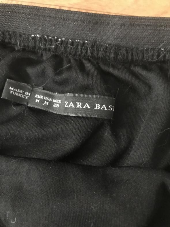 Transparentna spodnica zara koronki