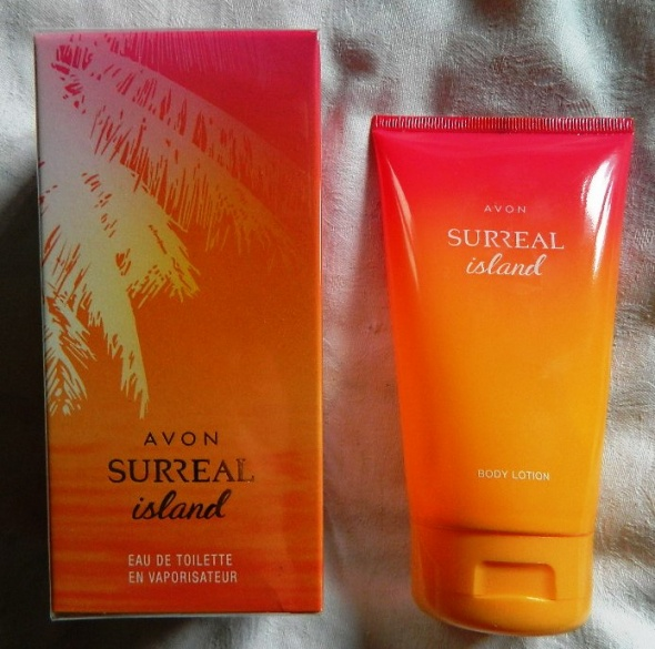 Surreal Island zestaw perfumowany edp 75 ml i balsam 150 ml...