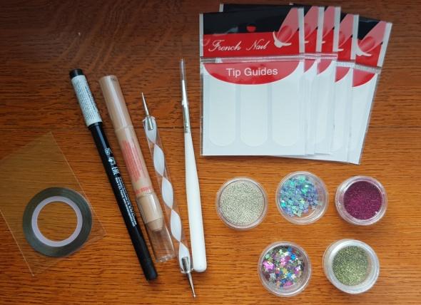 zestaw nowych kosmetykow