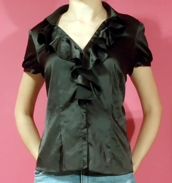 czarna koszula F&F...