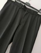 Nowe czarne spodnie George W 32 L 31 lampasy...