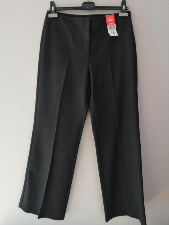 Nowe czarne eleganckie spodnie F&F 38 M...