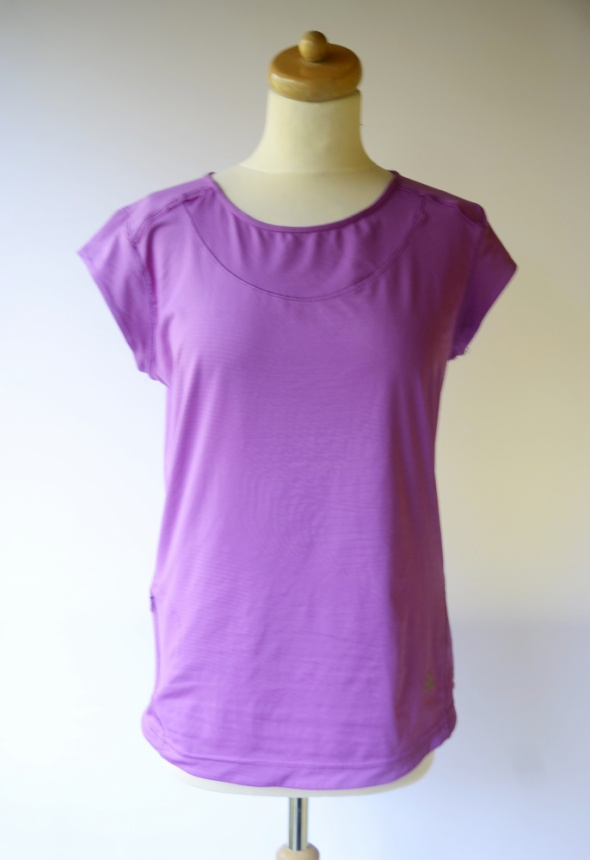 Bluzka T Shirt Sportowa Adidas Clima Lite Fioletowa L 40...