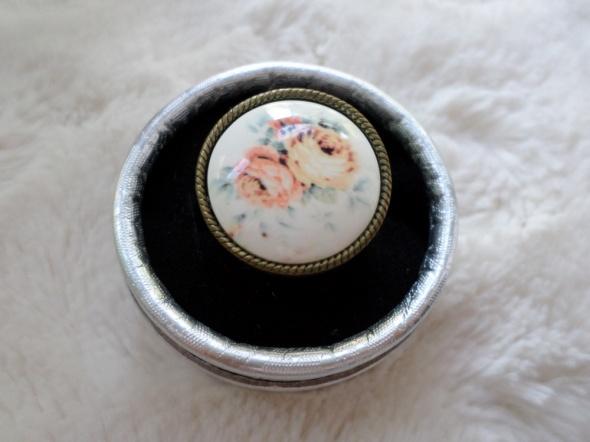 pierścionek foral kwiaty house