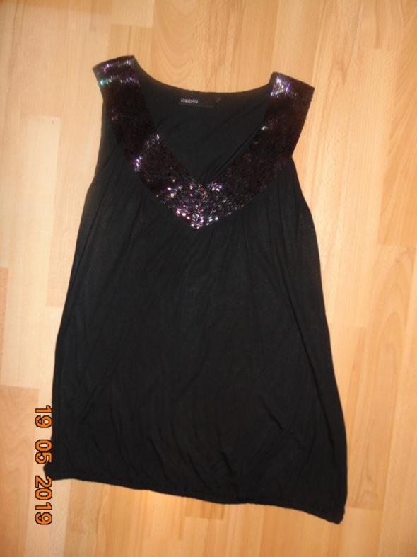 czarna bluzka S M L elegancka...