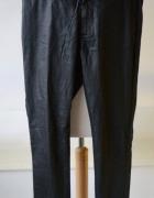 Tregginsy Spodnie Czarne M 38 Vero Moda Woskowane...